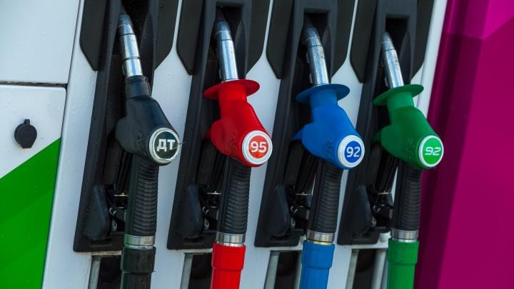 Топливо в Зауралье оказалось дешевле, чем у соседей в Уральском округе