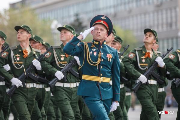 Парад покинет площадь Павших Борцов
