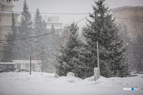 Снегопад приведёт к ухудшению видимости