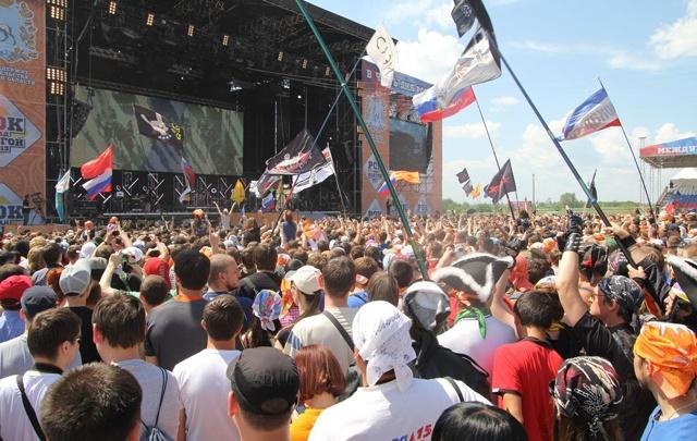 Фестиваль «Рок над Волгой» хотят провести на территории«Самара Арены»