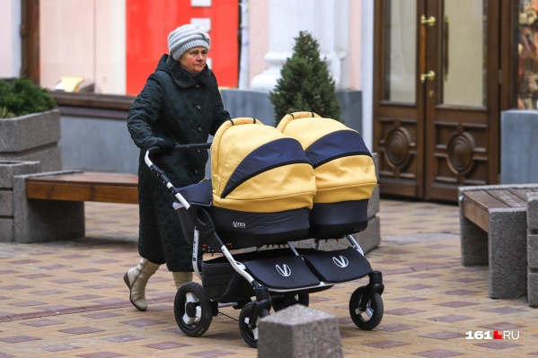Больше всего двойняшек родилось в Ворошиловском районе Ростова