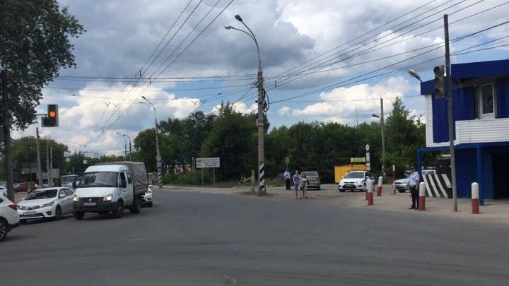 В Самаре светофор на Шоссейной — Народной перевели в другой режим