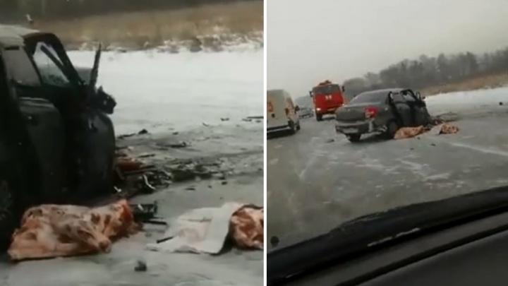 Четыре человека пострадали в ДТП на Северном объезде