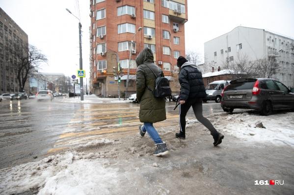 Ростовская зима обещает быть традиционно теплой