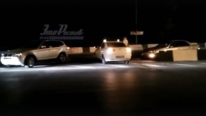 Оформляли пьяного: в Сети опубликовали видео «массового ДТП» в Ростове