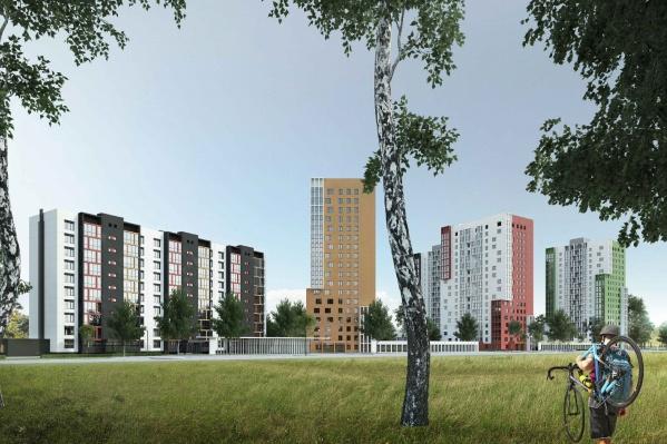 Такие высотки в Кольцово хочет построить челябинский депутат