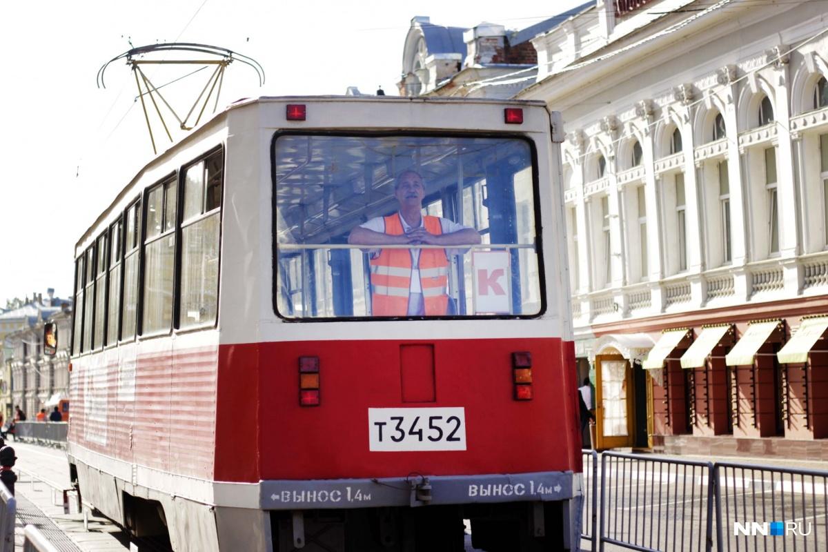 Лучшего водителя трамвая выбирают в Нижнем Новгороде