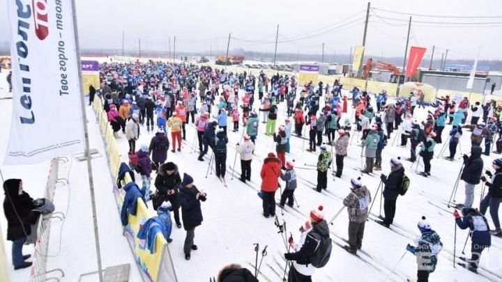 Главный старт «Лыжни России» в Екатеринбурге собрал 21 тысячу участников