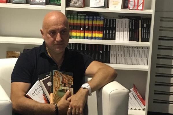 Захар Прилепин отметил, что Бенес Айо служил в его батальоне на Донбассе