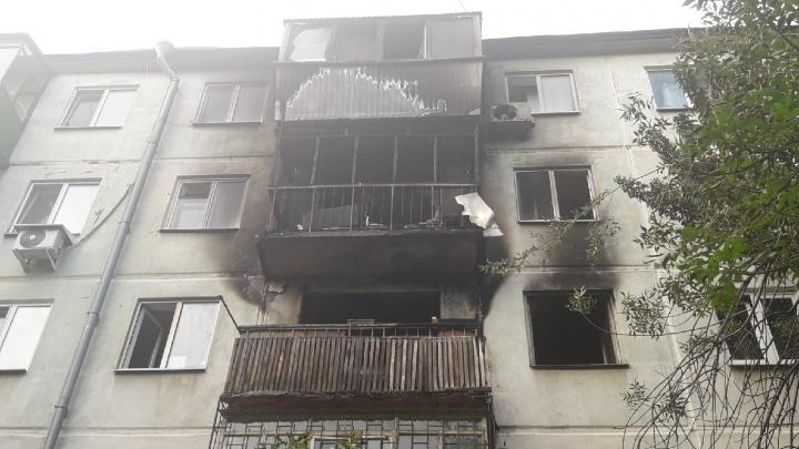 Выжгло три этажа: в МЧС рассказали о причине пожара в жилом доме на улице Партизанской