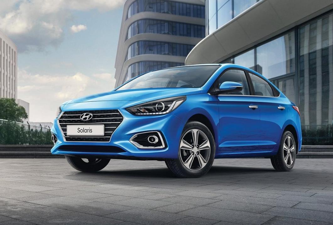Hyundai Solaris стоит около 900 тысяч рублей