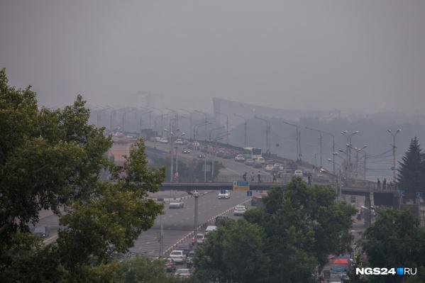 В Красноярске нечем дышать
