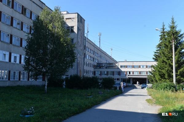 Ребенка доставили на вертолете в детскую больницу №9