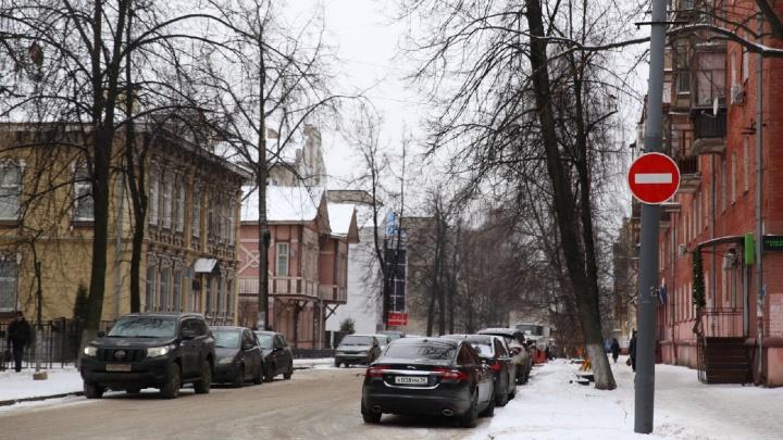 Никакой встречки: на центральной улице Ярославля введено одностороннее движение