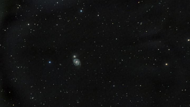 Новосибирцы рассмотрели в небе галактику, где скоро вспыхнет сверхновая звезда