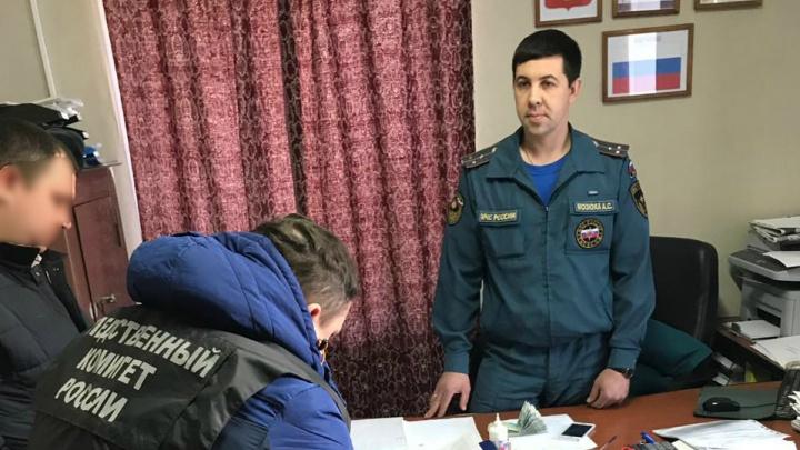 В Челябинской области за взятку задержали начальника пожарной части