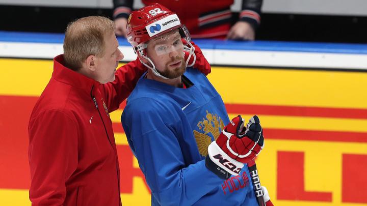 Знатно покуражились: дубли челябинцев Кузнецова и Дадонова помогли сборной России разгромить Италию