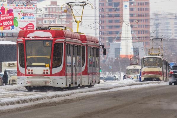 Городские власти сделают упор на развитие трамвайно-троллейбусной сети