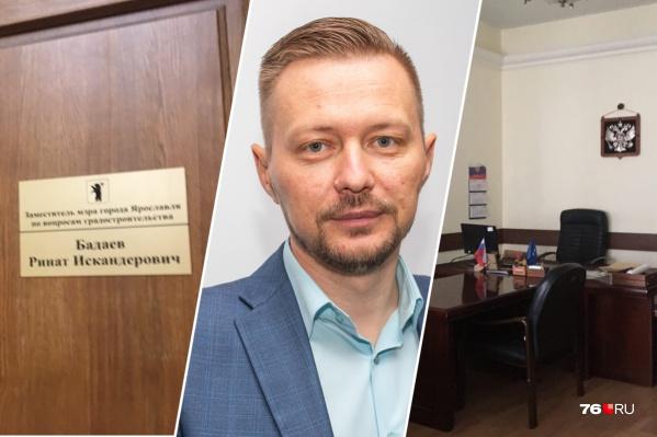 В кабинете Рината Бадаева сейчас пусто