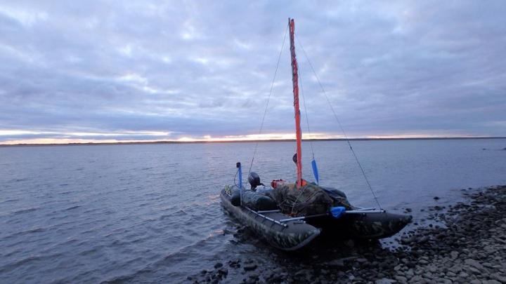 Экспедиция исследовала дно Енисея в районе Игарки и нашла судно 1847 года постройки