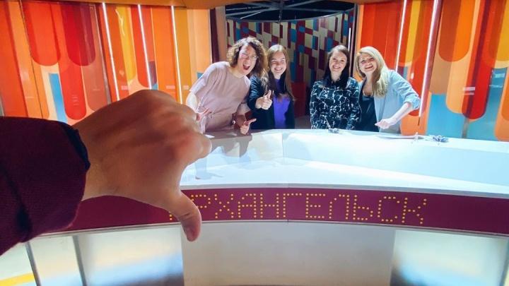 Архангелогородцы сразились с маркетологами из Рязани в программе «100 к одному» на канале «Россия-1»