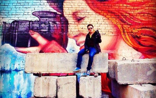 Новосибирцы завалили соцсети селфи на фоне ярких граффити