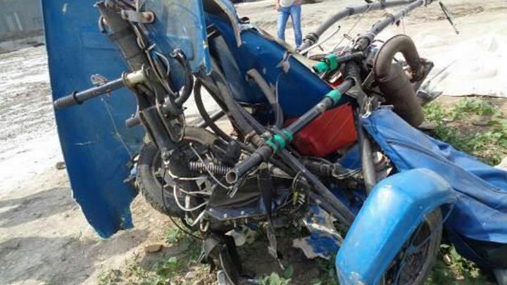 В Волгограде упал мотодельтаплан: пилот — сотрудник Росавиации выжил