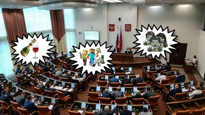 «Спасти Красноярск от ковров на балконе»: что хотели запрещать власти и активисты, кроме «Майнкрафт»
