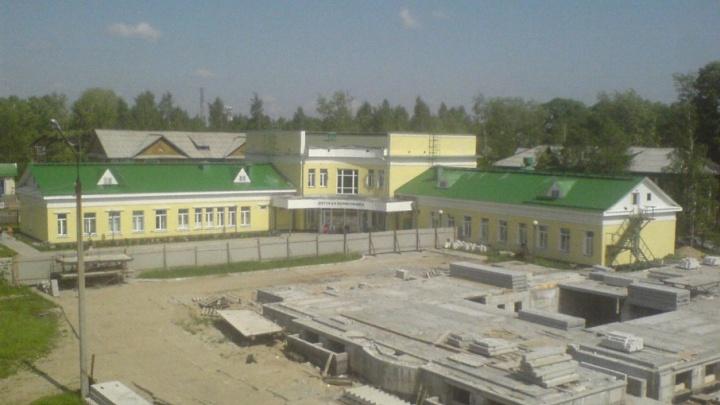 Детскую поликлинику Новодвинска ждёт обновление фасада в 2018 году