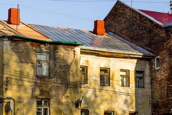 Немало жалоб на плохие фасады домов