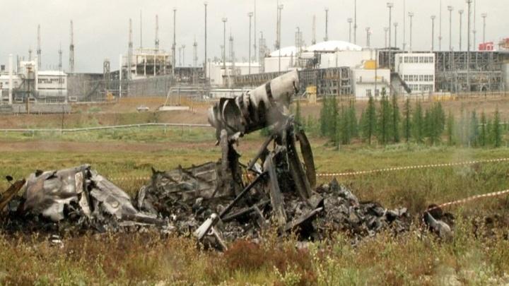 Тела всех погибших в крушении вертолёта Ми-8 ночью доставили в Красноярск