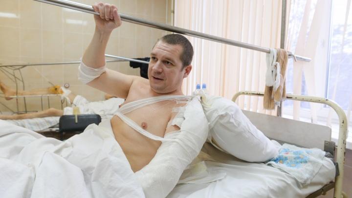 «Дочке сказали, что папа поскользнулся»: интервью с первым пострадавшим в жутком ДТП на Фурманова