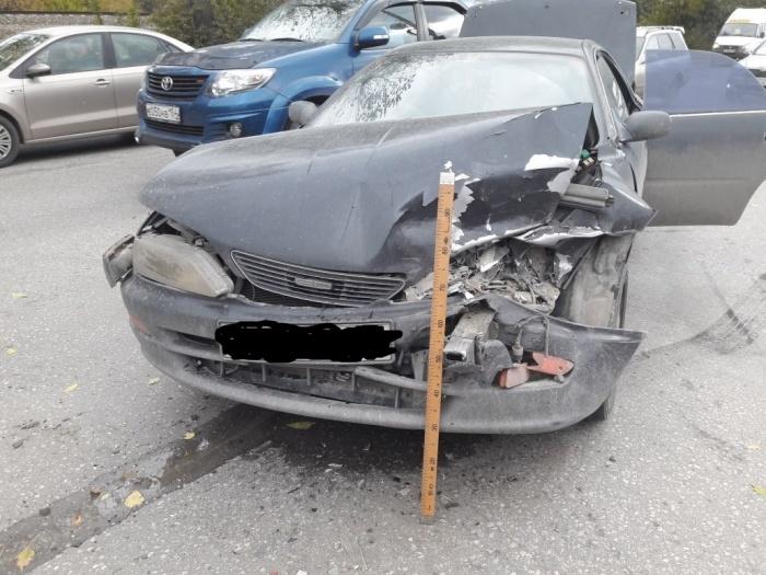 Авария произошла сегодня днем в Первомайском районе