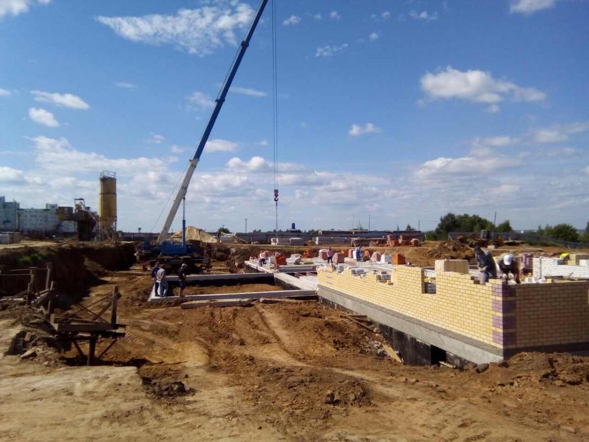 """Со стороны Арзамасской трассы построят второй детский сад для ЖК """"Окский берег"""""""