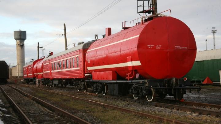 Пожарные поезда Северной железной дороги подготовлены к летнему периоду