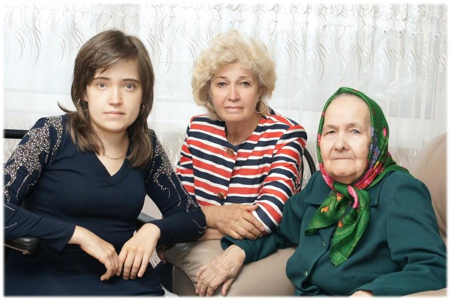 85-летняя Хамдуня Бадеговна попала в больницу с переломом