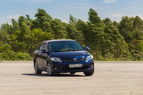 Toyota Corolla остается самой популярной иномаркой в Новосибирске