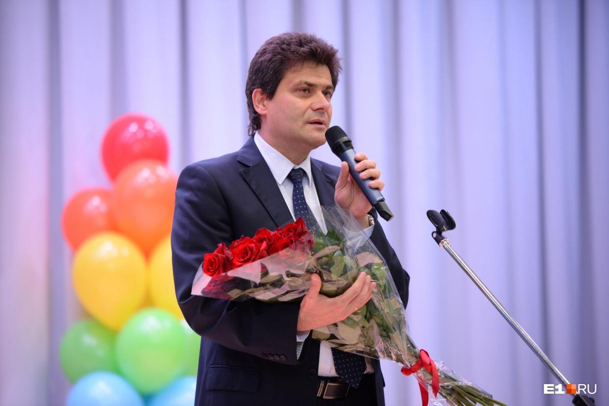 Мэр Александр Высокинский