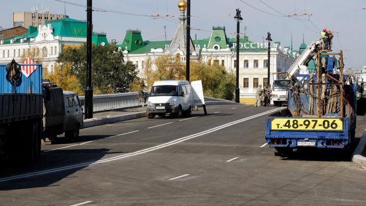 В Омске перекроют несколько улиц из-за открытия Юбилейного моста