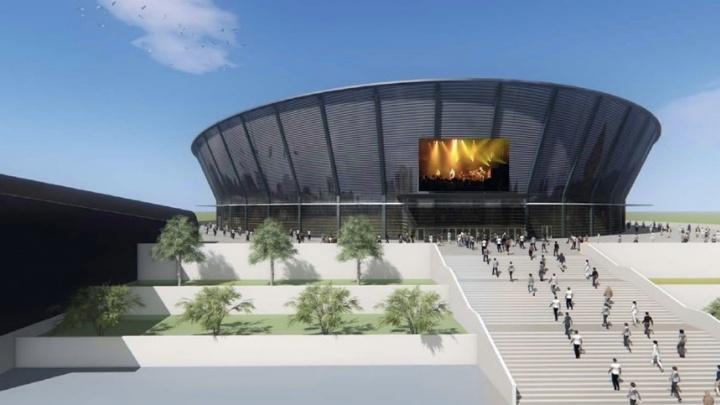 Хоккей, жильё, парковки: в правительстве показали проект ледовой арены на Горской