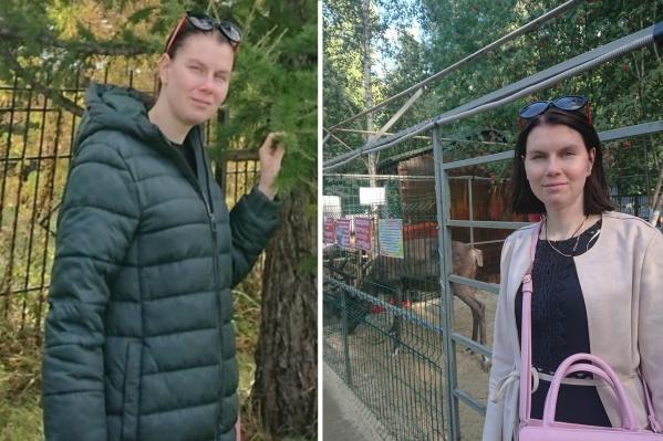 Анастасия Купрякова пропала в зелёном пуховике, который на фото слева