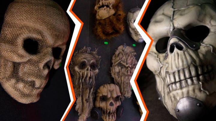 Страх, да и только! В екатеринбургском музее сделали пугающие маски к Хеллоуину