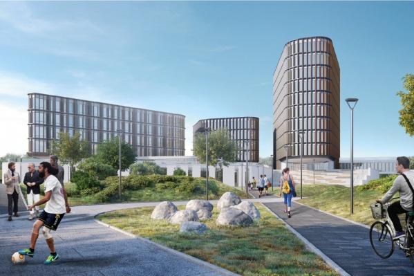 Городок построят к 2030 году на Широкой Речке