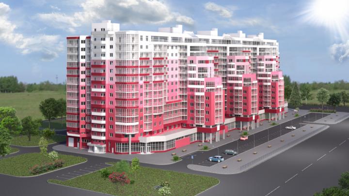 От свай до седьмого этажа:ЖК «Рубин» возводится ударными темпами