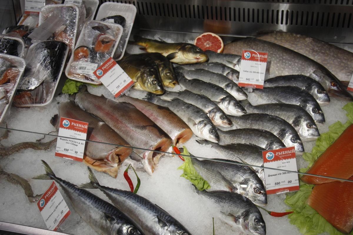 Новый рыбный магазин появился на месте старого, закрытого уже в этом году