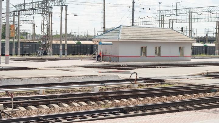 На платформах железнодорожной станции «Каргаполье» появятся осязаемые указатели
