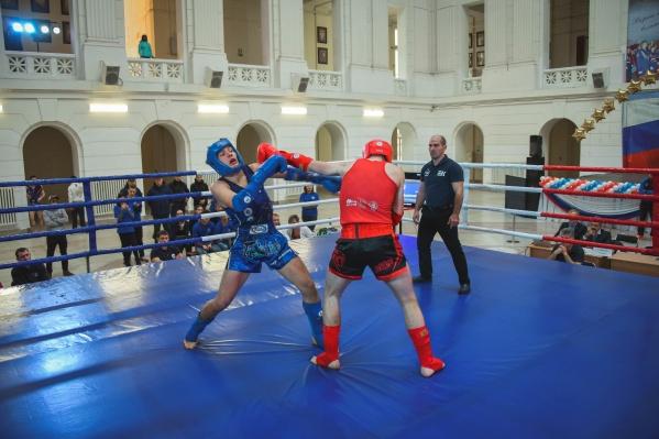 Спортсмены представляли 25 вузов юга России