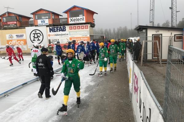 Юноши «Водника» стали первыми финалистами Кубка мира в Швеции