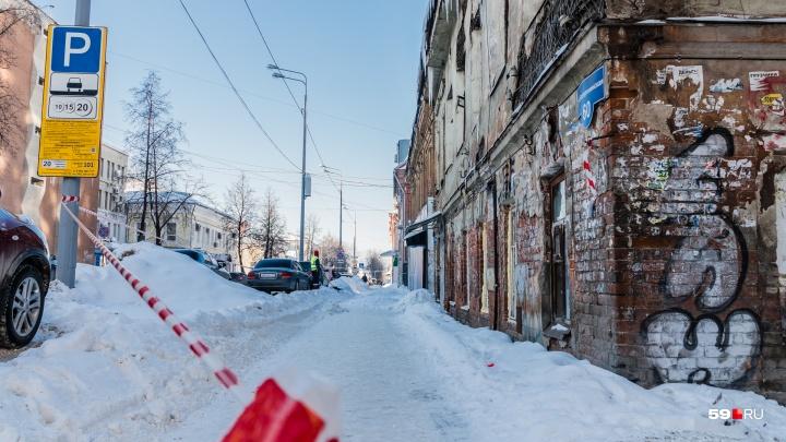 Мэр Перми предложил закрывать небольшие улицы для уборки снега