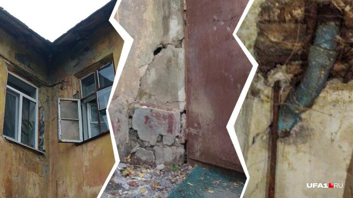 Дождь с потолка и крысы на кухне: как живут люди в двухэтажке 1941 года постройки